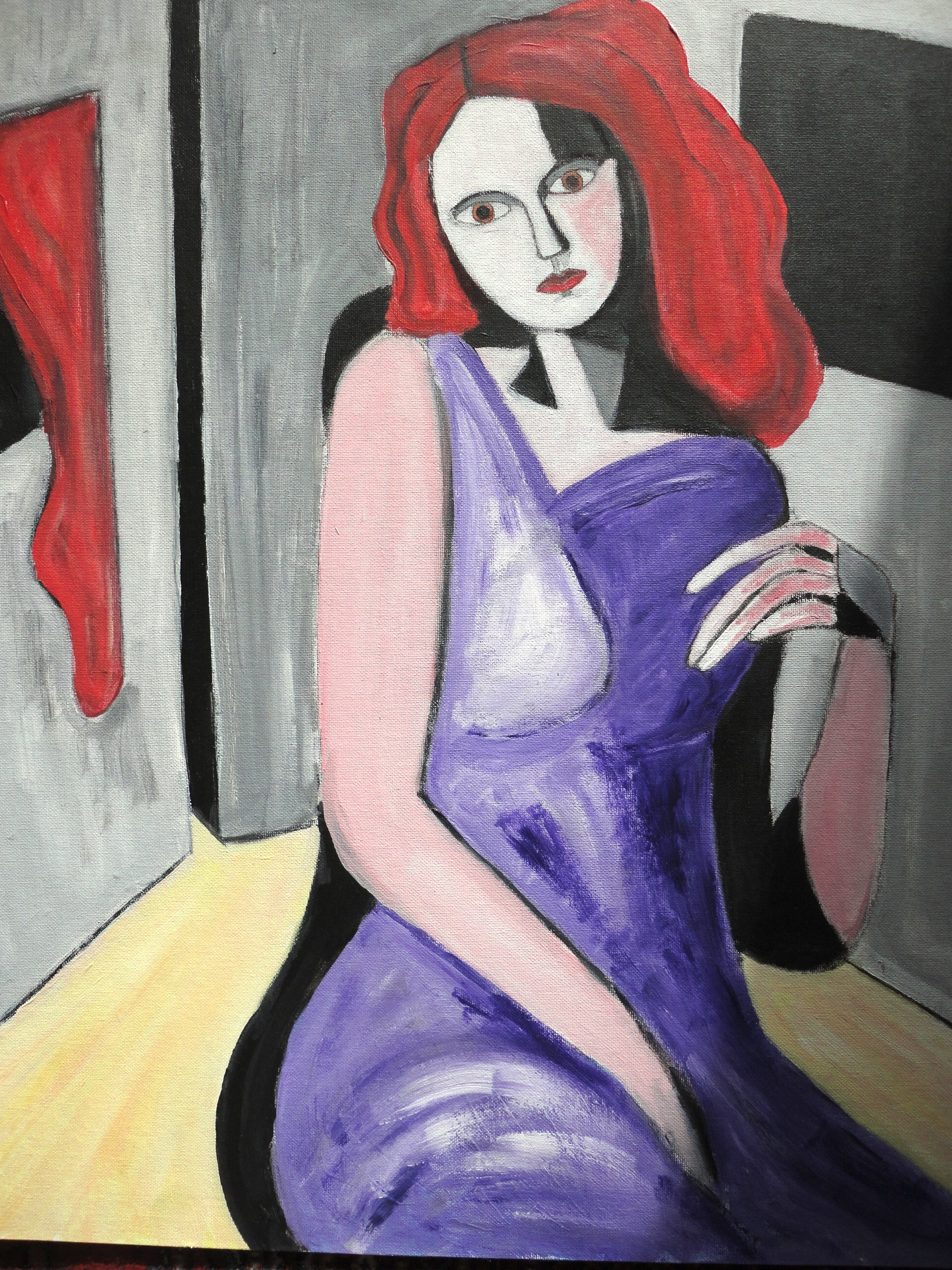 Woman with RedHair